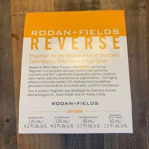 NEW R+F Reverse Lightening Regimen DISCONTINUED